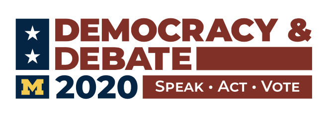 Democracy and Debate logo